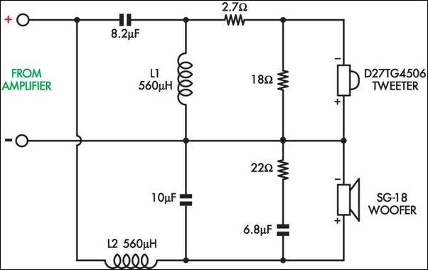 in an rlc series circuit  by giving a voice input and
