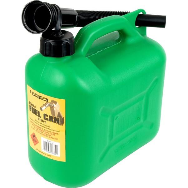 Is polyethelene plastic safe for diesel fuel storage? - Quora