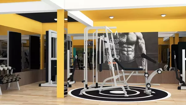 What are the best interior designs used in a gym to attract