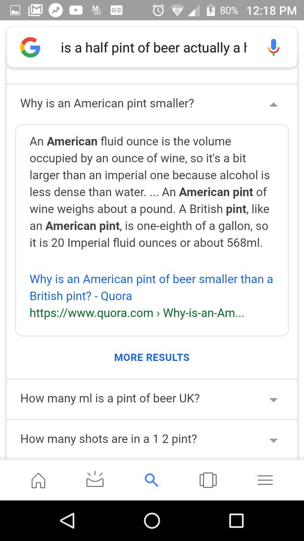 How Many Half Pints Make A Pint Quora