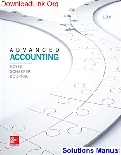 Fundamentals Of Advanced Accounting 6th Edition Pdf