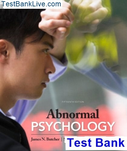essentials of abnormal psychology third canadian edition pdf