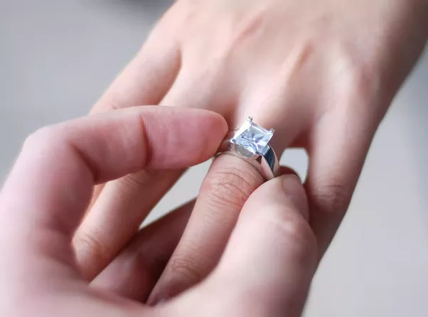 Most Of The People Wear Diamond Rings As A Engagement Ring And If You Are  Talking About Engagement Ringu2026. Then It Should Be Wear In The Third Finger  I.e. ...