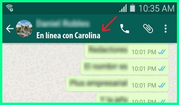 Cómo Puede Ver O Deducir Quién Habla Con Quién En Whatsapp Quora