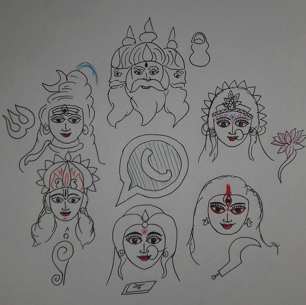 If Hindu gods started a WhatsApp group, how would it sound like? - Quora