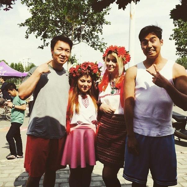 Russian women like asian men