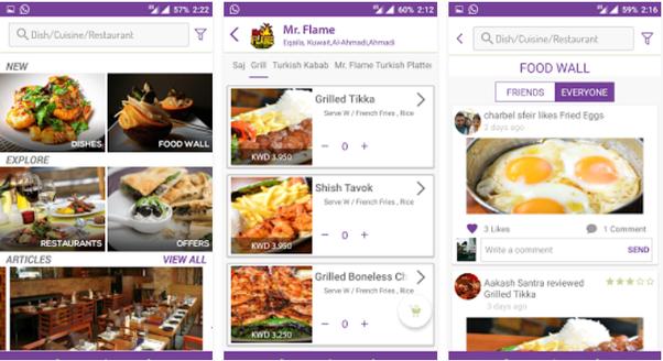 Best Online Food Ordering Apps Bangalore
