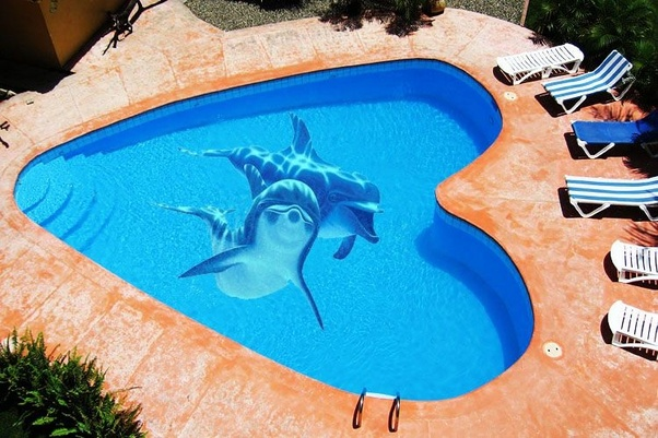 How to do a 3D flooring for my swimming pool using epoxy paint - Quora