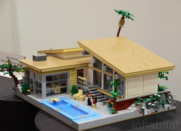 Tom Alpin Seems To Have Nailed Micro Implementation Here, Huh? Lego  Challenge #3: Make A Model Of A Famous Building U2013   Tom Alphin