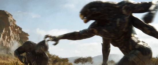 In Avengers: Infinity War, what are the creatures attacking