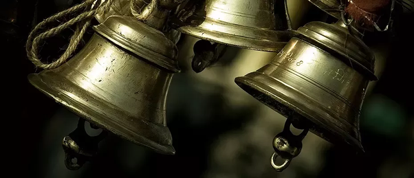 Why do Indian temples have bells? - Quora