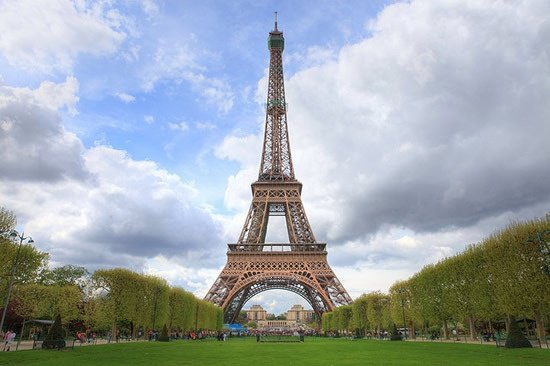 The Eiffel Tower Is Pariss Most Famous Landmark And One Of Recognizable Structures In World Visited By More Than 5 Million People Each Year