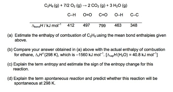 What is the combustion of ethane? - Quora