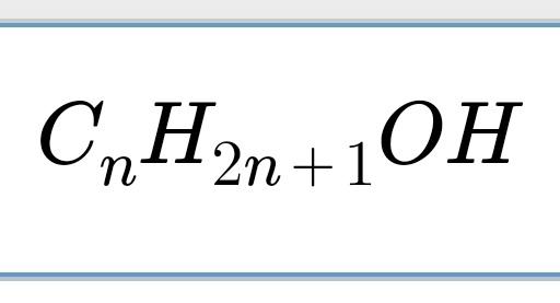 Formel Für Alkohol