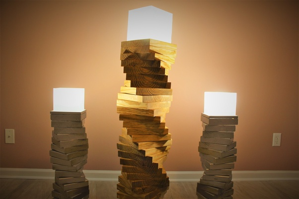 How To Build A Wooden Floor Lamp Quora