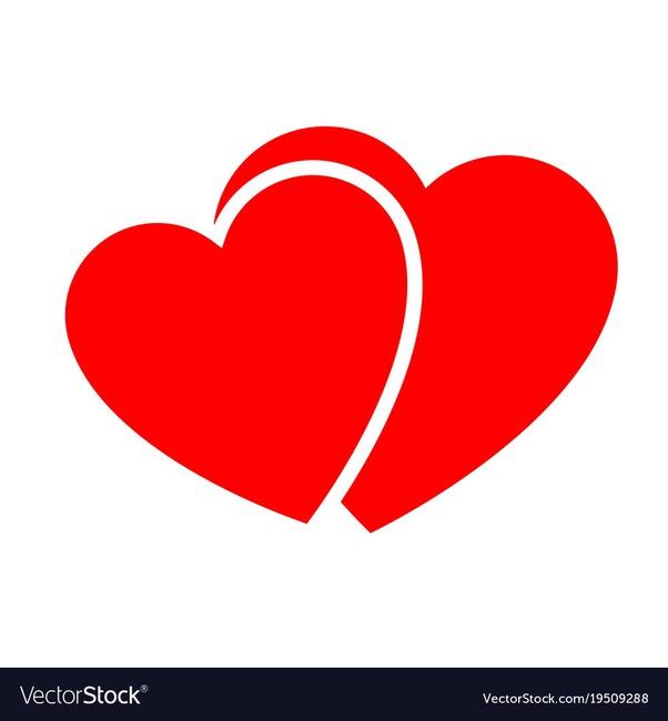 Sending Love Hearts Red  White