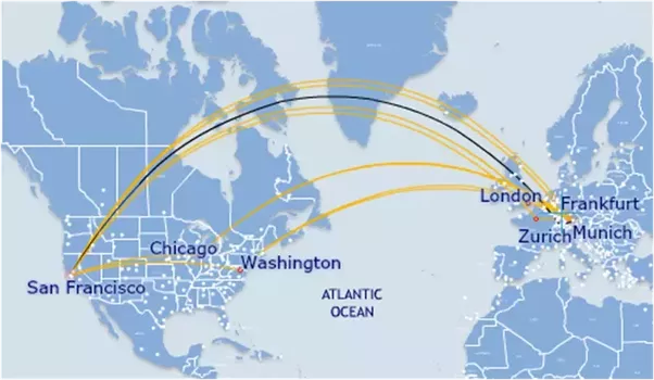 What Are The Benefits Of Knowing The Earth Is Round Quora - Us Flight Path Map