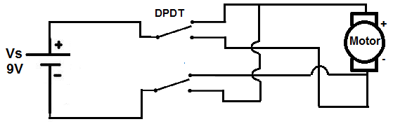how is a dpdt switch used for reversing the motion of an. Black Bedroom Furniture Sets. Home Design Ideas