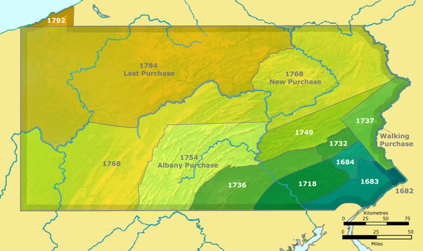 What happened to the Native Americans of western Pennsylvania