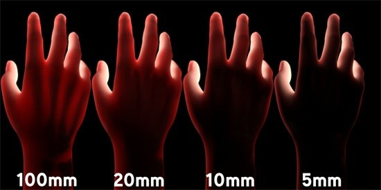 Without subsurface scattering CGI people look waxy shiny and fake. In a real human light bleeds through thin tissue. The effect can be quite subtle ... & Why do we see a red color when we hold our palm against a light ...