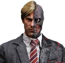 You could also make a good Two-Face costume by parting your mohawk to one side and adding some gruesome face paint.  sc 1 st  Quora & What is a good Halloween costume for someone with a mohawk? - Quora
