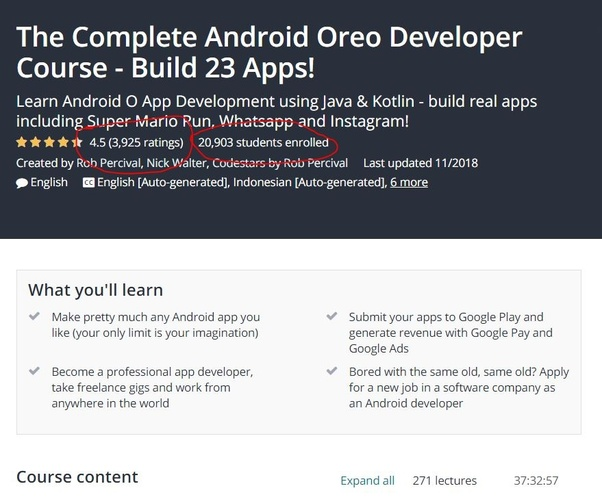 """Should I take Udemy's """"Complete Android N Developer Course""""? - Quora"""
