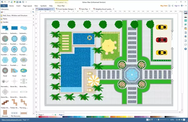 Garden Design Is The Art And Process Of Designing And Creating Plans For  Layout And Planting Of Gardensand Landscapes.