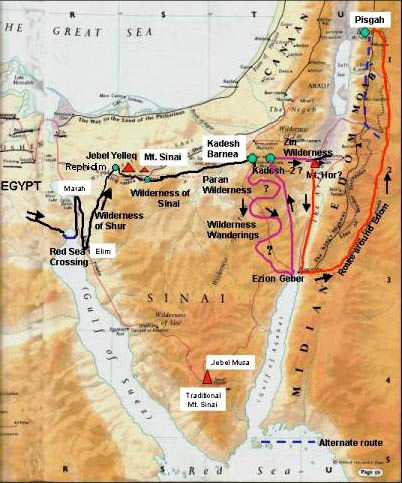 Where Is Mount Sinai >> Where Is The Location Of Mount Sinai Where Moses Received