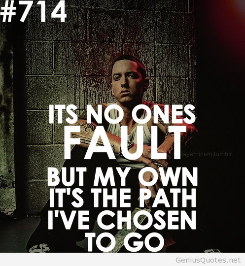 Eminem Song Lyric Quotes: What's The Best Motivating Line In A Song?