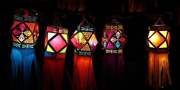 Decorating Your Homes And Offices On Diwali By Using Paper Lampshades Is  One Of The Brightest Diwali Decoration Ideas. These Beautiful Paper  Lampshades Are ...