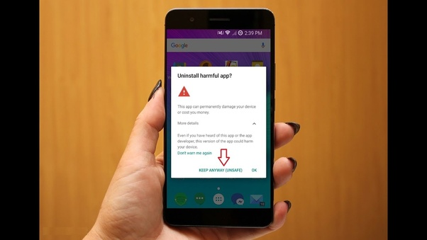 How to recognize dangerous apps on my Android system and