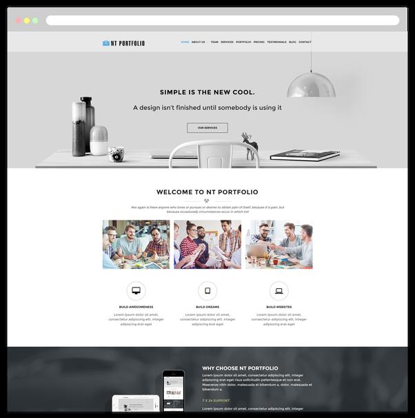 Where can i find a free wordpress responsive web template for nt portfolio free creative showcase wordpress theme navy themes maxwellsz