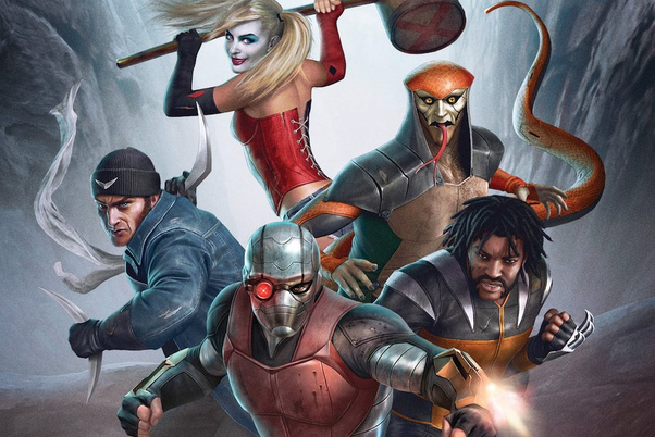 Is The Upcoming Dc Animated Film Suicide Squad Hell To Pay A
