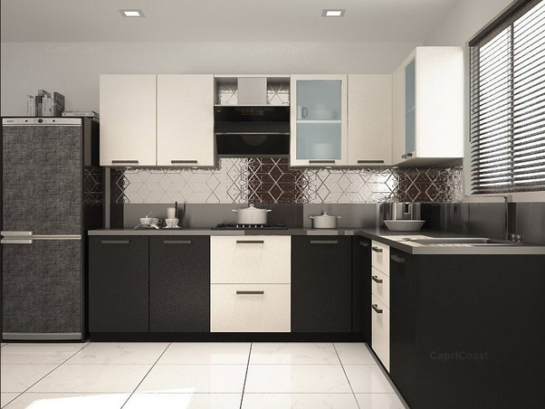What is the best place for a modular kitchen in bangalore - L shaped indian modular kitchen designs ...