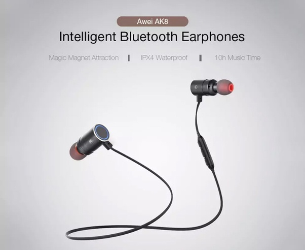 Awei AK8 A Bluetooth Wireless Earphone Is Good Sport Bluedio TS3 Great Mini Speaker That Will Bring You Incomparable Music Experience