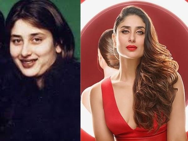What are some of the before and after pics of Kareena ...