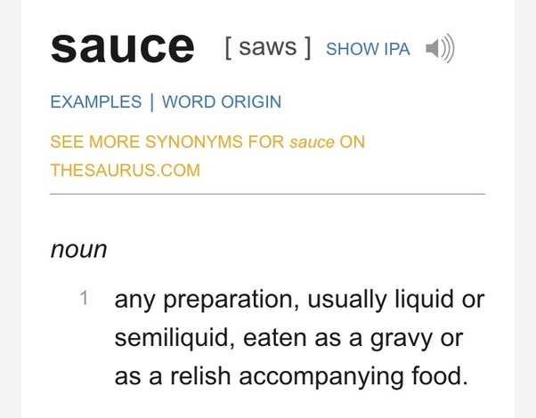 What is the worst sauce in the world? - Quora