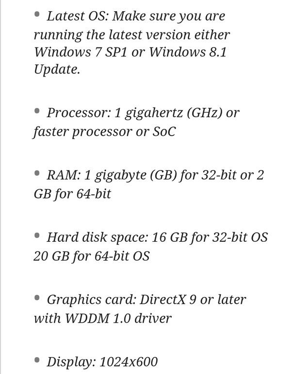 What should be the configuration (mainly of motherboard and