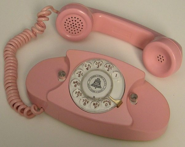 Around The Middle Of Decade You Started Seeing Wall Mount Telephone In People S Homes Installed Usually Kitchen Its Coiled Receiver Cord