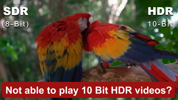 Is there any video player for 10-Bit HEVC? - Quora