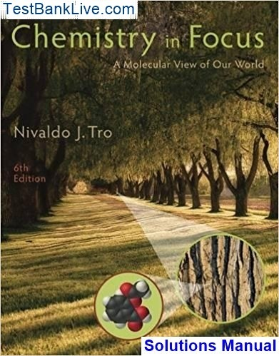 Chemistry Tro Solutions Manual