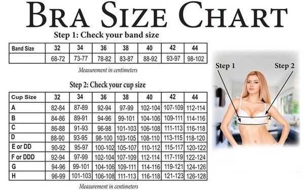 Which size bra is big, A or B? - Quora C Cup Breast Vs B Cup