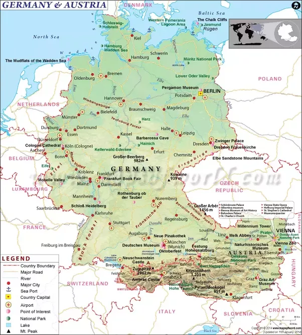 I Want To Visit Germany In German: Are There Any Former German States That Want To Be