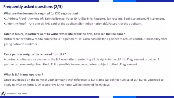 What Are The Documents Required For Incorporation Of Llp Quora