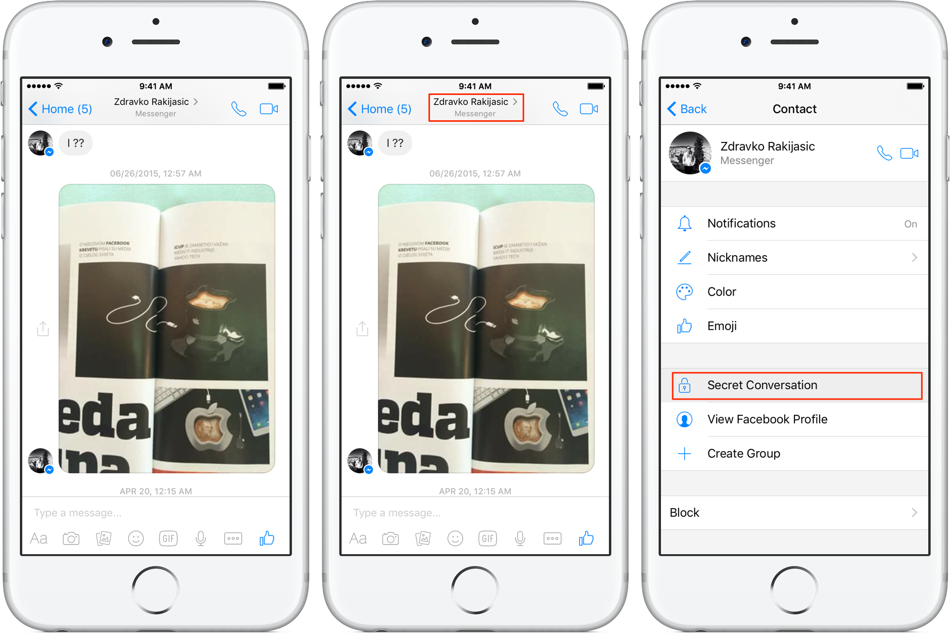 How to see secret conversations on Facebook Messenger - Quora