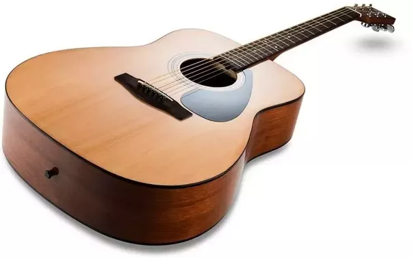 b0f59c544ab Yamaha F310 Spruce Acoustic Guitar has natural shape without any cutaways.  So it's more suitable for strumming (campfire style) – it will have a full  tone.