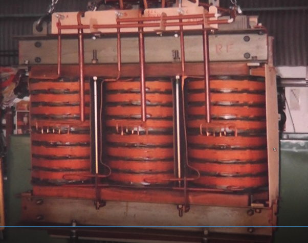 What Does The Inside Of A Power Transformer Look Like
