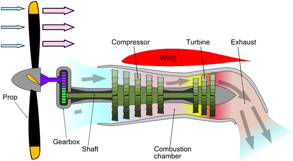 Why Does The Atr 42 Aircraft Have Its Engines Embedded