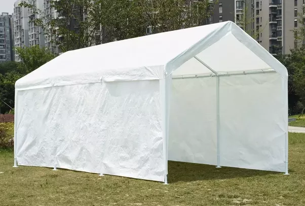 #Quictent 10u0027 x 20u0027 Heavy Duty White Carport/Canopy/Party Tent/Car Shelter & What are the best carports at Home Depot? - Quora
