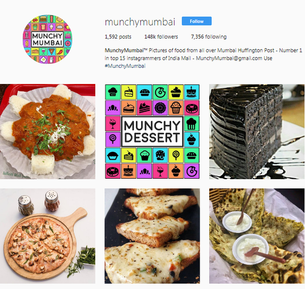 What are some of the best indian instagram accounts quora munchymumbai munchymumbai instagram photos and videos forumfinder Image collections